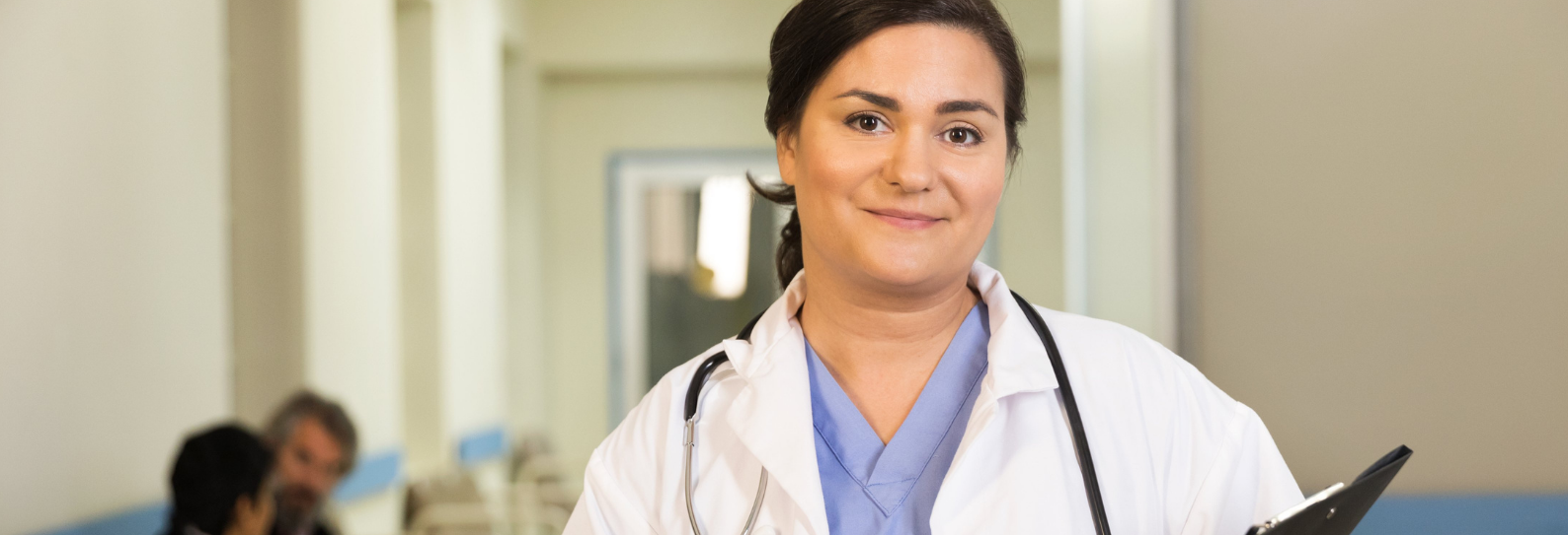 Photo of a female doctor