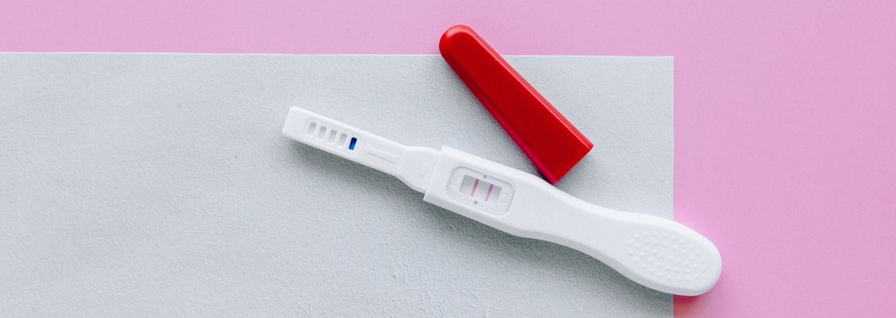 Photo of pregnancy test